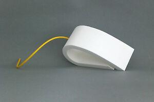 Türstopper Fensterstopper Türkeil Stopper Windowstop   weiß-gelb  Artikel-Design