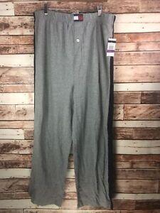 NWOT TOMMY HILFIGER Men's Pajama Olive Green 100% Cotton Pants Size XXL