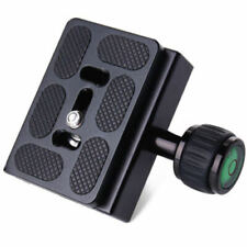 Metal Clamp & Quick Release Plate for Manfrotto Arca-Swiss Tripod Ball Head LQN