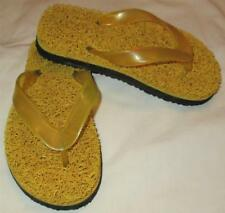 EA CHILDREN BOYS GIRLS UNBRANDED MASSAGE THONG FLIP FLOPS SANDALS SHOES~SZ 13~LN