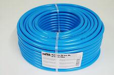 Druckluftschlauch 10mm x 2,5mm 50m blau flexibel Luftschlauch Gewebeschlauch neu