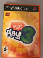 EYE TOY PLAY 3 - Sony Playstation 2 Game - PS2 - EYETOY - FAST P&P