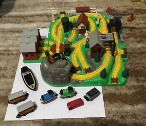 Bluebird Thomas the tank engine miniature play-set 1996.