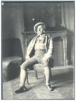 """H. Blancard, France, Portrait de Mr. Darras dans """"Le Mariage de Figaro""""  Vintage"""