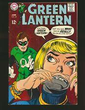 Green Lantern # 69 VG+ Cond. subscription crease