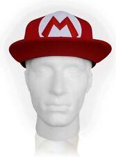 Accessoires casquettes de base-ball rouge pour homme en 100% coton