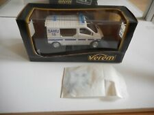 Verem Renault Trafic Ambulance in White in Box