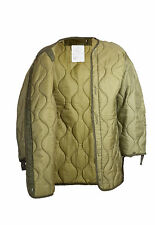 USA FISHTAIL M65 PARKA Liner Genuine Military Quilted Used Olive Green Drab Med