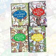 Enid Blyton's The Magic Faraway Tree 4 Books Collection Set Pack Enchanted Wood