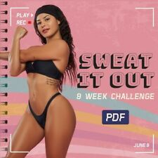 SWEAT IT OUT Katya wbk  challenge PDF HOME OR GYM  GUIDE + EXTRAS