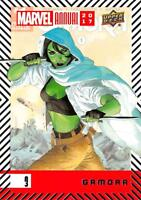 GAMORA / 2017 MARVEL ANNUAL (2018 Upper Deck) BASE Trading Card #03