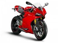 MAISTO 11092R 13100 DUCATI 1199 SUPERLEGGRA or PANIGALE model bike 1:18th scale
