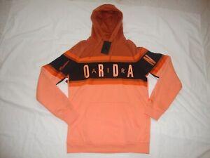 New Nike Men's Jordan Jumpman Gradient BQ5651-246 Pullover Hoodie Size XL Orange