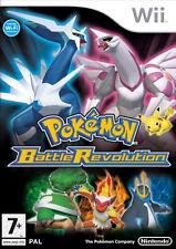 Wii Pokemon Battle Revolution Nintendo PAL UK Version
