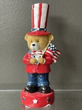 Fourth Of July Decor Bears 4 Inches tall