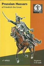 WATERLOO 1815 1:72 SOLDATINI PRUSSIAN HUSSARS OF FRIEDRICH THE GREAT ART AP 052