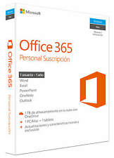 Microsoft Office 365 Personal, 1 año, ESD (Español) (1x PC/MAC)