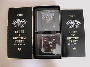 THE MERCURY BLUES 'N' RHYTHM STORY 1945-1955 8 CD BOX SET & BOOKLET MINT- 1996