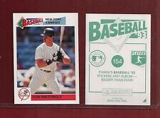 1993 Panini Baseball Sticker New York Yankees #154 Don Mattingly