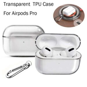 For Apple AirPods Pro Charging Case Soft TPU Shockproof Protective Skin Cover
