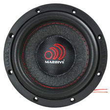 MASSIVE AUDIO SUMMO64 300w Single 4 Ohm High Power Subwoofer