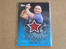 2009 Topps WWE WRESTLING SANTINO MARELLA RINGSIDE RELIC SHIRT RELIC SWATCH E6830
