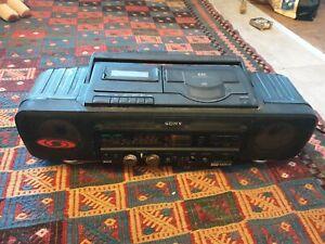 SONY CFD-60L Stereoanlage CD Radio Kassetten Recorder Ghettoblaster Boombox