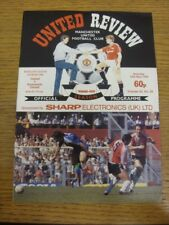 13/05/1989 Manchester United v Newcastle United  . Any faults with this item sho