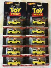 Hot Wheels Premium Toy Story Pizza Planet Truck  Disney Pixar w/ RR's Lot Of 10