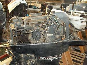 Mercury 35hp trim-driveshaft cover 60769