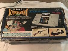 Vintage Unisonic TOURNAMENT 2000 Game Console Complete In Box Shooting Working