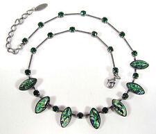 Modeschmuck-Halsketten & -Anhänger aus Glas mit Glücks-Themen für Damen