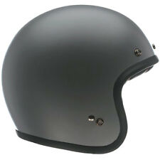 CLEARANCE Bell Custom 500 Matte Matt Grey Primer Open Face Jet Motorcycle Helmet