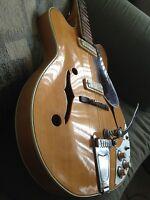 "1965 Vintage Guitar Electric Suzuki Japan ""Rare"" Set Neck"