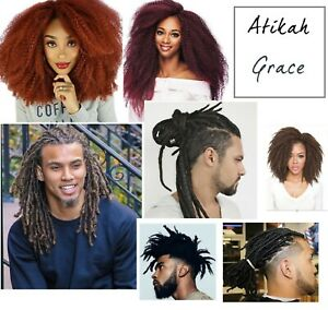 """Afro Kinky Marley Braids/Hair extensions,18"""", for Crochets and Dreadlocks"""