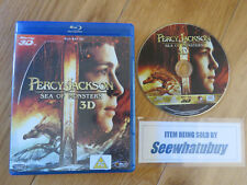Percy Jackson - Sea Of Monsters (3D Blu-ray, 2013) VGC
