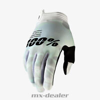 2020 100% Prozent itrack Handschuhe weiß camo MTB DH MX BMX FR Motocross Enduro
