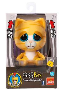 Feisty Pets - Yellow Cat - 10cm (NEU & OVP!)