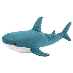 Ikea BLÅHAJ Soft toy, shark100 cm 303.735.88  *Brand New*