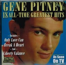 "GENE PITNEY Brand New CD ""18 ALL-TIME GREATEST HITS"" sealed"