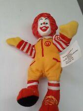 Vintage Ronald McDonald 6 inch doll 2002 Finger Puppet