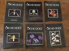 THE ORCHID DIGEST 6 VOLS 1981