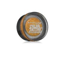 MAYBELLINE Color Tattoo Metal By Eyestudio 24HR Eye shadow 65 Gold Rush NEW