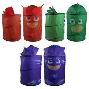 Laundry Bag Kids 3D Pop Up Storage Bin Foldable Washing Basket Clothes Toys Box