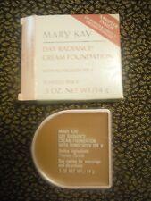 MARY KAY DAY RADIANCE CREAM FOUNDATION~TOASTED BEIGE~0127~NEW~FREE SHIPPING