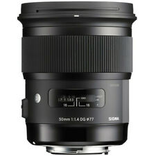 Sigma 50mm F1.4 ART DG HSM NEW PRIME WIDE Lens for CANON CAMERA in FACTORY BOX
