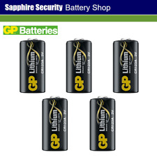 5 x GP Batteries CR123A Photo Lithium 3V Battery for Cameras - Torches - Alarms