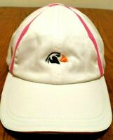 Imperial Sports Womens Hat Pink White Bandon Dunes and Tufted Puffin One Size