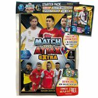 2020 Match Attax Extra Soccer Cards - Starter Pack incl Neymar Gold Limited