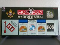 Monopoly Boy Scouts Of America Edition 95th Anniversary 1996 100% Complete